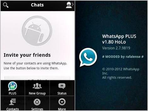 baixar whatsapp plus holo para android